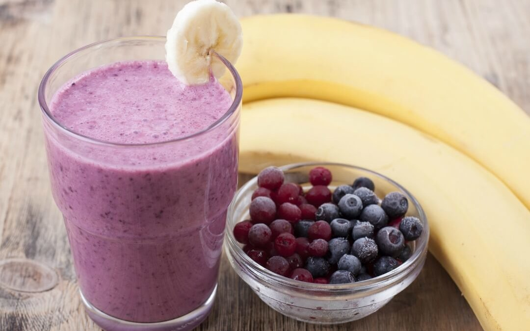 Food Therapy: Blueberry Banana Protein Shake